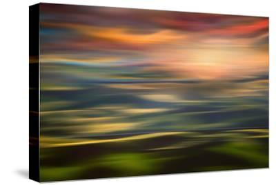 Rolling Hills at Sunset Copy-Ursula Abresch-Stretched Canvas Print