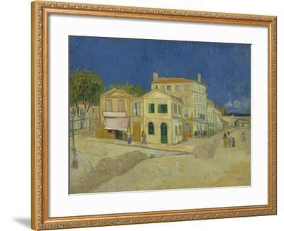 The Yellow House, 1888-Vincent van Gogh-Framed Giclee Print