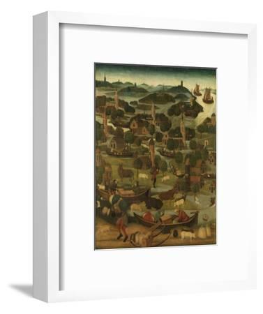 St Elizabeth Flood by Master of the Holy Elisabeth Panels C.1490-5--Framed Giclee Print
