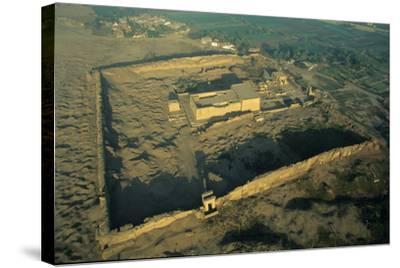 The Dendera Temple Complex-Marcello Bertinetti-Stretched Canvas Print