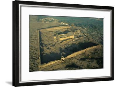The Dendera Temple Complex-Marcello Bertinetti-Framed Photographic Print