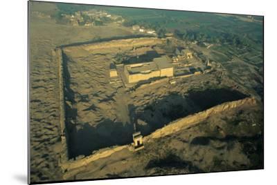 The Dendera Temple Complex-Marcello Bertinetti-Mounted Photographic Print