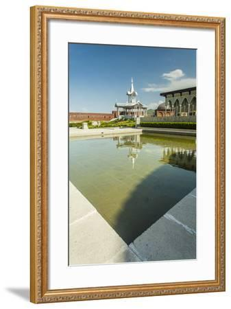 Gazebo with a Fountain in the Rabat Fortress-Richard Nowitz-Framed Photographic Print