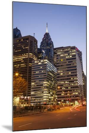 Highrise Office Towers and Hotels in the Downtown Financial District of Philadelphia-Richard Nowitz-Mounted Photographic Print