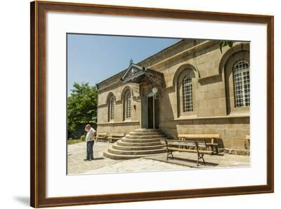 The Exterior of the Akhaltsikhe Synagogue of the Georgian Jews-Richard Nowitz-Framed Photographic Print
