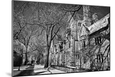 Winter Blizzard at Yale University-Kike Calvo-Mounted Premium Photographic Print