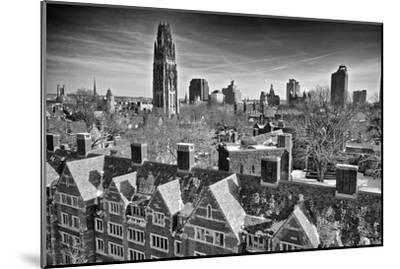 Yale University after a Winter Blizzard-Kike Calvo-Mounted Premium Photographic Print