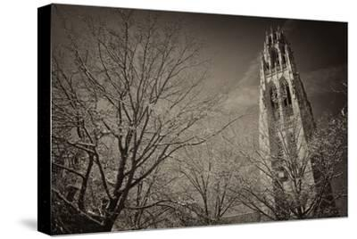 Yale University's Gothic Harkness Tower-Kike Calvo-Stretched Canvas Print
