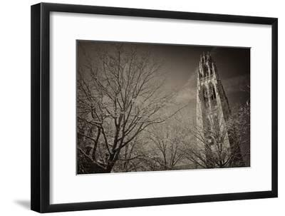 Yale University's Gothic Harkness Tower-Kike Calvo-Framed Premium Photographic Print
