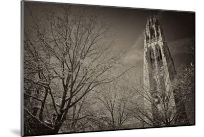 Yale University's Gothic Harkness Tower-Kike Calvo-Mounted Premium Photographic Print