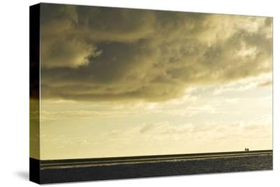 The Low Lying Starbuck Island in the Southern Line Island Chain-Mauricio Handler-Stretched Canvas Print
