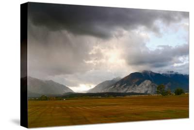 Leadville, Colorado: A Storm Builds in the Colorado High Country-Ben Horton-Stretched Canvas Print
