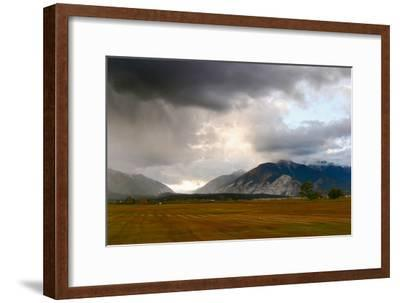 Leadville, Colorado: A Storm Builds in the Colorado High Country-Ben Horton-Framed Photographic Print