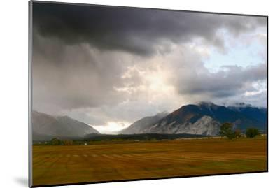 Leadville, Colorado: A Storm Builds in the Colorado High Country-Ben Horton-Mounted Photographic Print