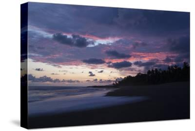Sunset Above the Coast of the Osa Peninsula-Gabby Salazar-Stretched Canvas Print