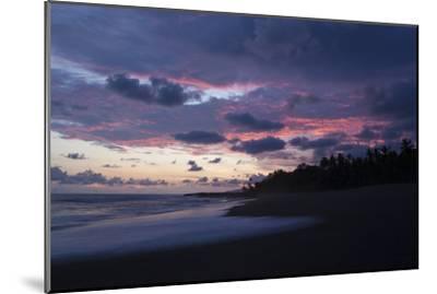 Sunset Above the Coast of the Osa Peninsula-Gabby Salazar-Mounted Photographic Print