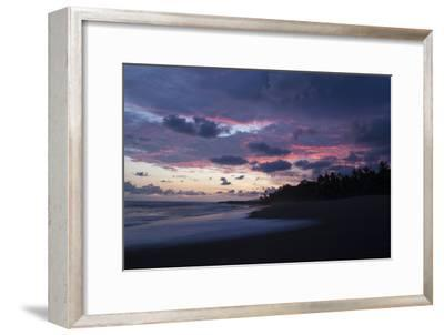 Sunset Above the Coast of the Osa Peninsula-Gabby Salazar-Framed Photographic Print