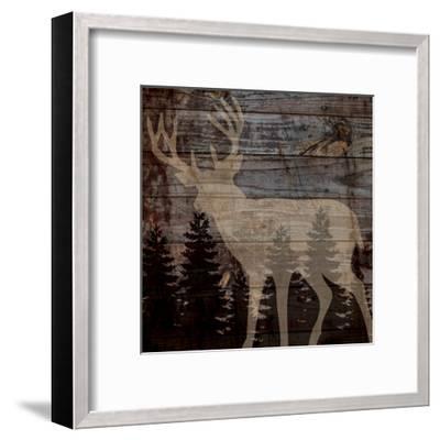 Rustic Deer-Piper Ballantyne-Framed Art Print