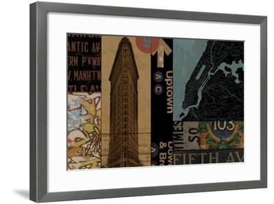 Urban Uptown I-Eric Yang-Framed Art Print