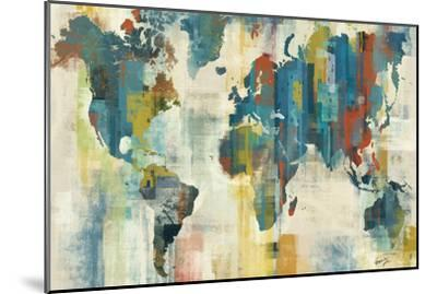World Map-Eric Yang-Mounted Art Print