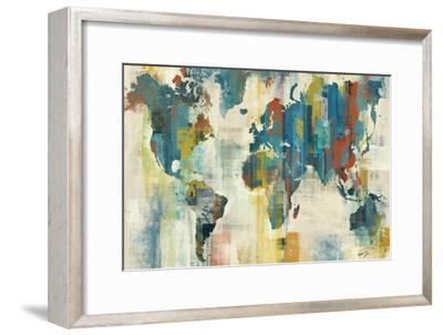 World Map-Eric Yang-Framed Art Print