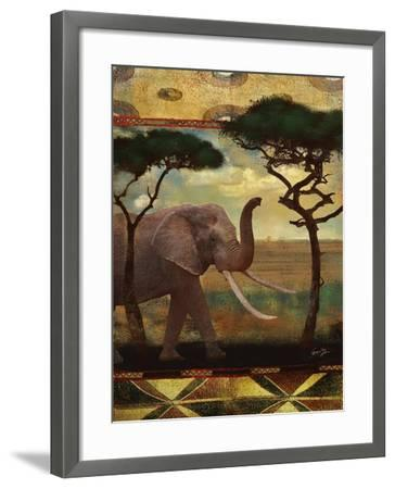 Jungle Giants I-Eric Yang-Framed Art Print