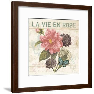 La Vie En Rose-Piper Ballantyne-Framed Art Print