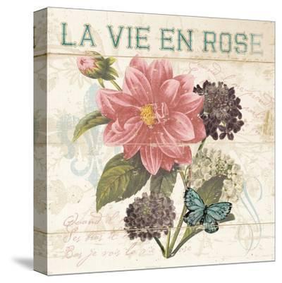 La Vie En Rose-Piper Ballantyne-Stretched Canvas Print