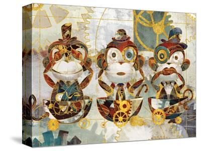 Steampunk Monkeys-Eric Yang-Stretched Canvas Print