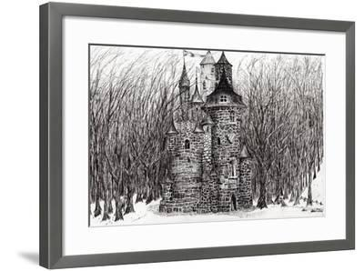 The Castle in the Forest of Findhorn, 2009-Vincent Alexander Booth-Framed Giclee Print
