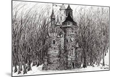 The Castle in the Forest of Findhorn, 2009-Vincent Alexander Booth-Mounted Giclee Print