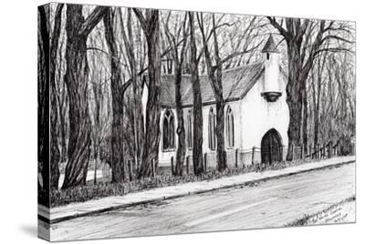 The White Chapel, Aviemore, 2007-Vincent Alexander Booth-Stretched Canvas Print