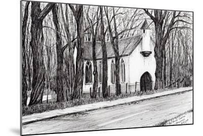The White Chapel, Aviemore, 2007-Vincent Alexander Booth-Mounted Giclee Print
