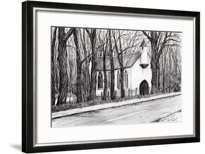 The White Chapel, Aviemore, 2007-Vincent Alexander Booth-Framed Giclee Print
