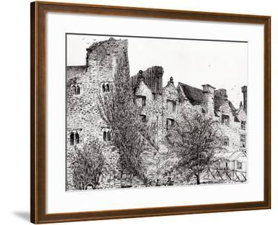 Castle Ruins at Hay on Wye, 2007-Vincent Alexander Booth-Framed Giclee Print