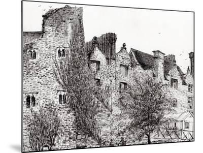 Castle Ruins at Hay on Wye, 2007-Vincent Alexander Booth-Mounted Giclee Print