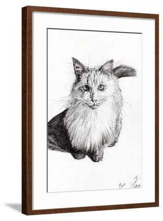 Monty, 2009-Vincent Alexander Booth-Framed Giclee Print