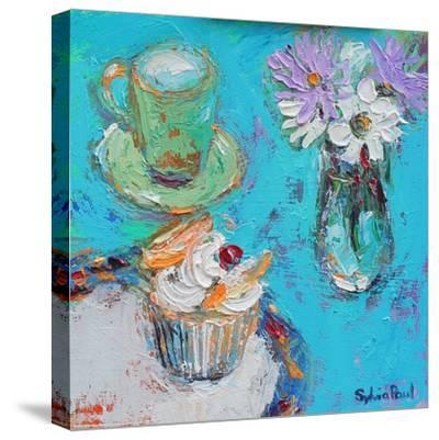 Butterfly Cake-Sylvia Paul-Stretched Canvas Print