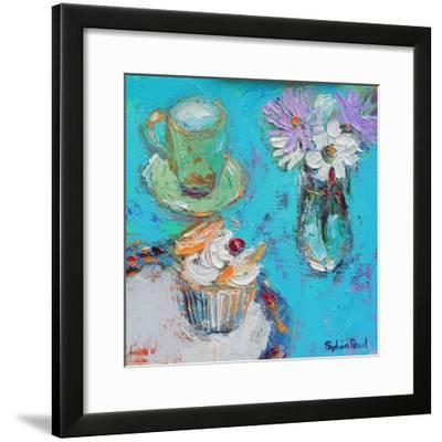 Butterfly Cake-Sylvia Paul-Framed Giclee Print