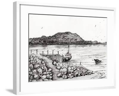 Iona from Mull, Scotland, 2007-Vincent Alexander Booth-Framed Giclee Print