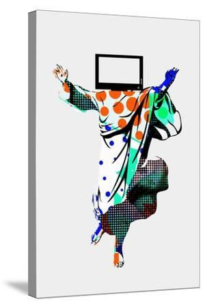 TV Screens Annimo--Stretched Canvas Print