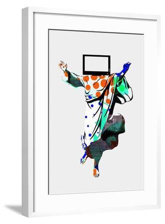 TV Screens Annimo--Framed Art Print