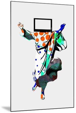 TV Screens Annimo--Mounted Art Print
