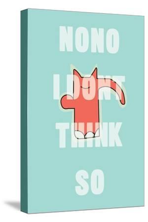Annimo Nono Man--Stretched Canvas Print