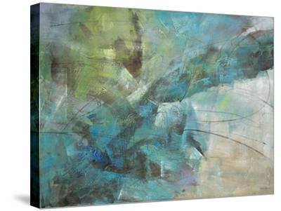 Aqua Explosion-Gabriela Villarreal-Stretched Canvas Print