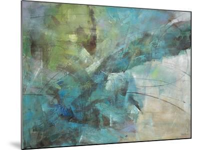 Aqua Explosion-Gabriela Villarreal-Mounted Art Print