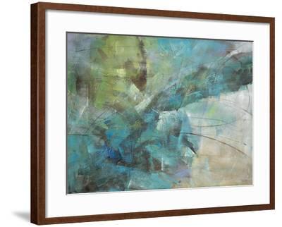 Aqua Explosion-Gabriela Villarreal-Framed Art Print