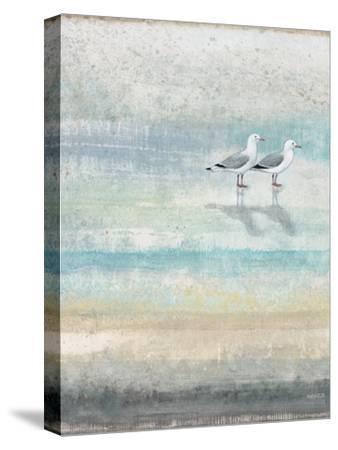 Sea Glass Shore 2-Norman Wyatt Jr^-Stretched Canvas Print