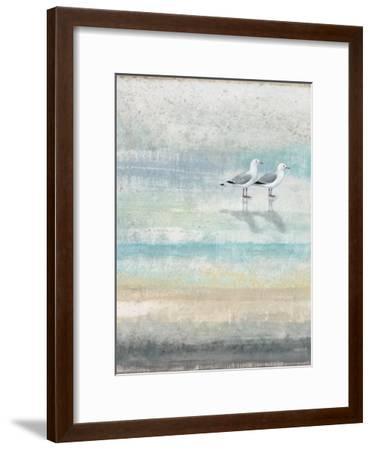 Sea Glass Shore 2-Norman Wyatt Jr^-Framed Art Print