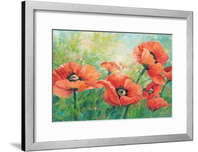 Red Poppies-Wendy Kroeker-Framed Art Print